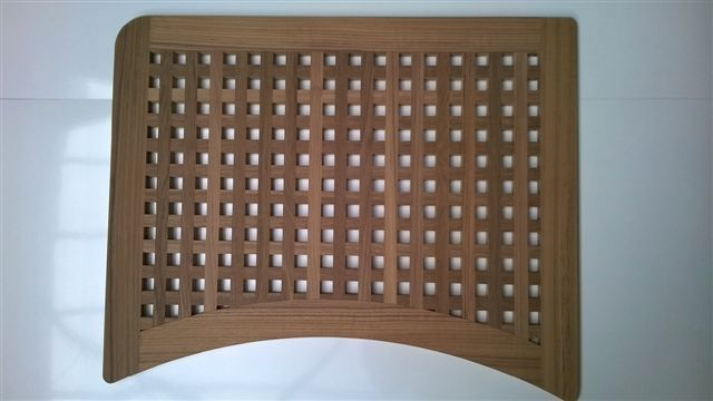 CHRIS CRAFT TEAK SHOWER GRATING RITMEESTER TEAK BLOKROOSTER DOUCHE