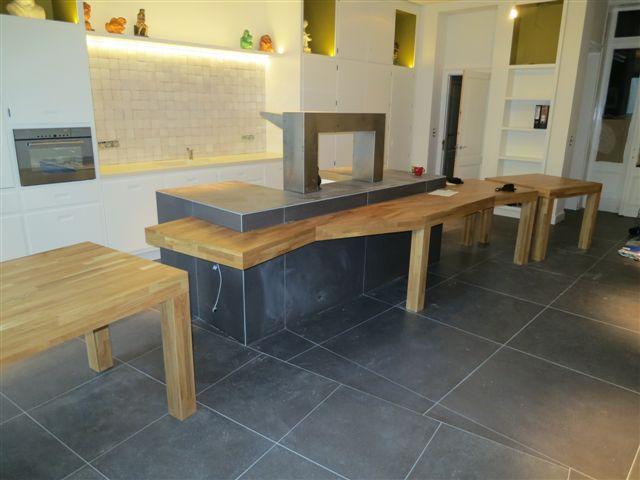 kleine keuken tafel. Black Bedroom Furniture Sets. Home Design Ideas