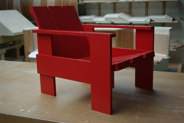 Gerrit Rietveld Kratstoel : Rietveld kratstoel rietveld crate chair rietveld furniture
