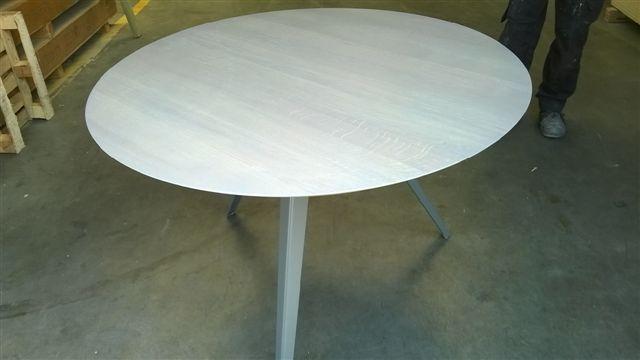 Tafels eiken tafel op maat ritmeester alblasserdam