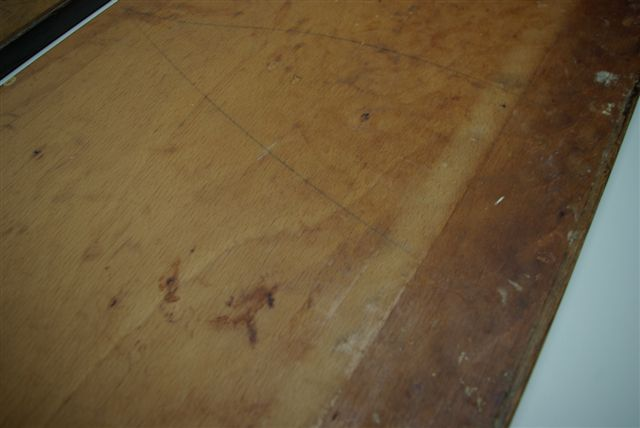 Tafels: eiken tafelblad restaureren [ritmeester alblasserdam]