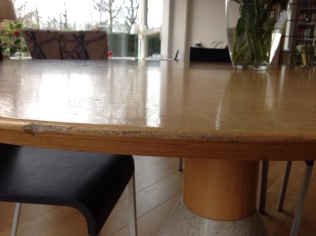 Tafels tafelrenovatie arco tafels ritmeester alblasserdam
